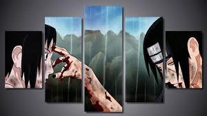 ArtSailing <b>5 piece</b> canvas art <b>HD print</b> Naruto poster Price: 12.00 ...