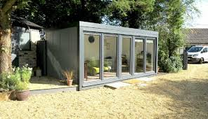 office garden. Garden Office With Anthracite Windows