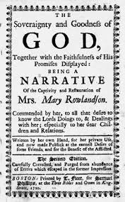 the soveraignty goodness of god together the faithfulness  rowlandson mary captivity narrative