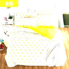 yellow white duvet cover king 2 luxury set pinch pleat sets covers ems whit