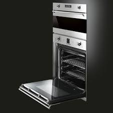 Gas Wall Ovens Reviews Smeg Sf399xu 24 Inch Single Electric Wall Oven With 28 Cu Ft