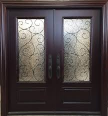 elegant double front doors. Elegant Rustic Double Front Doors With Mahogany Entry 6x68 2 38 Thick S