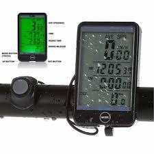 Cycling LCD Bike Computer Speed Odometer Waterproof ...