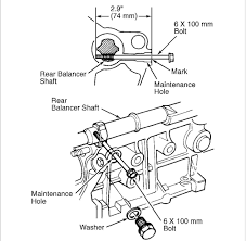 Could i get a diagram of the timing marks and aux belt for a 2002 rh