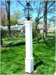 Wooden light post Rustic Outdoor Light Post Wooden Lamp Posts Residential Smartly Industrial Solar Garden Lamp Post Wooden Light Posts Decorative Plug In Lamp Medium Size Of Post
