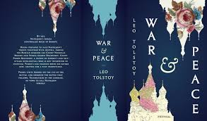 indesign tutorial book cover paperback redesign clic cover war and peace tolstoy full cover