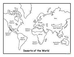 desert coloring pages coloring page coloring book pages coloring pages map of deserts coloring page free