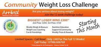 Arriba Centre London Arriba Weight Loss Challenge North London