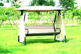 full size of porch swing seat cushions and back replacement patio beautiful lawn with canopy backyar