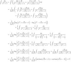 begin align int frac dx x