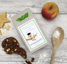 personalised teacher thank you gift cookie mix wise owl gifts for teachers