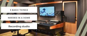 Image Waste The Basic Things Needed In Home Recording Studio Jackiem Joyner The Basic Things Needed In Home Recording Studio Studiotrix