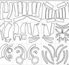 il_fullxfull.1150592047_2flu star wars sith stalker helmet pattern for pepakura to nbuild your on jango fett helmet template