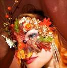 Как сделать осеннюю маску