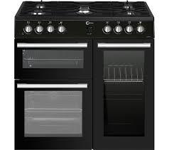 Why Dual Fuel Range Buy Flavel Mln9frk 90 Cm Dual Fuel Range Cooker Black Free