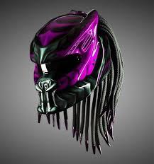 Predator Motorcycle Helmet Designs New Predator Motorcycle Helmet Water Pink Magenta Dot