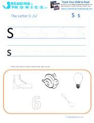 Blending sounds is a tricky but important skill. Learning Letter S And S Sound Fun Activities And Free Worksheets
