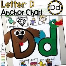 Chart D Alphabet Anchor Chart Letter D