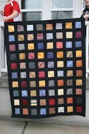 Silk Tie Quilt - Hopeful Homemaker & Each ... Adamdwight.com