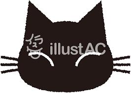 黒猫シルエット2イラスト No 397952無料イラストならイラストac