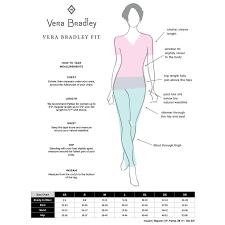 Vera Bradley Signature Womens Knit Waist Scrubs Pant