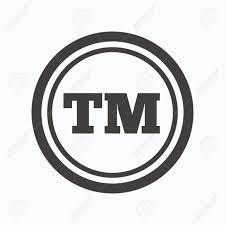 Tm Trademark Symbol Registered Tm Trademark Icon Intellectual Work Protection Symbol