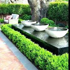 small garden water features solar