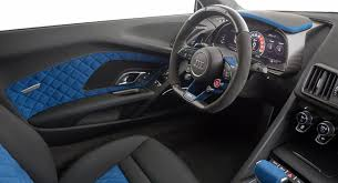 audi r8 black interior. Contemporary Interior Neidfaktor Pimps Out Audi R8 V10 Plus With Blue U0026 Black Interior Throughout
