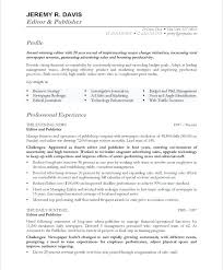 Free Online Resumes Enchanting Resume Format Online Resume Examples For Free Managing Editor Resume