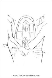 Small Picture Religious wedding coloring pages church wedding Detailed
