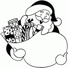 Xmas Santa Coloring Gif 1584 1600