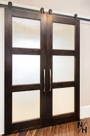 3 panel another benefit to having a sliding barn door