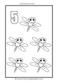 This color by number coloring page enters the world of dinosaurs and prehistoric earth. Insects Theme Coloring Number Worksheets Number 5 Worksheets Worksheets Write The Following Fraction As A Decimal Math Coloring Worksheets Middle School Grade 3 Math Test Papers Mathman Fractions Game Division Drill Worksheets