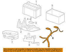 car truck battery cables connectors for mazda b3000 mazda oem 2007 b3000 3 0l v6 electrical fuse relay box 1fad67255 fits mazda b3000