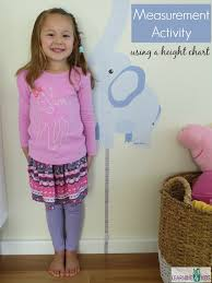 Measuring Height Activity For Kids Learning 4 Kids