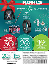Kohls Christmas 2017 Sales, Deals & Ads