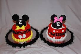 cool mickey and minnie cake ideas 3537 baby minnie and mic