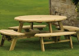 round wood outdoor table. Brilliant Wood Living Delightful Round Wooden Garden Tables 10 Terrace Sensational  Furniture With Table Design Glamorous Folding Bench Wood Outdoor