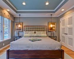 Trey Ceiling Home Design Ideas, Pictures, Remodel and Dcor gray walls blue  trey ceiling