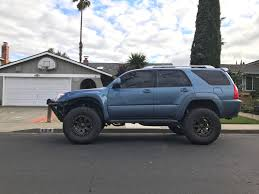 New wheels with a little face lift on my 4th gen : 4Runner