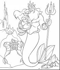 Top Little Mermaid Coloring Pages Online 90 For With Little Mermaid