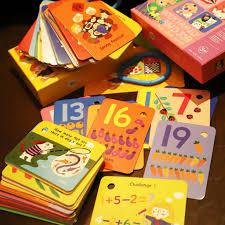 Bộ Đồ Chơi Thẻ Học Tiếng Anh Cho Bé Từ 3-6 Tuổi