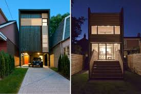 toronto s shaft house maximizes space daylight on a snug 20 ft wide lot inhabitat green design innovation architecture green building