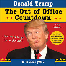 The Office Calendar Donald Trump Out Of Office Countdown Calendar 2019 Calendar Club Uk