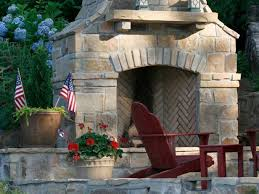 outdoor stone fireplace. TS-139973286_Outdoor-Stone-Fireplace-crop_s4x3 Outdoor Stone Fireplace HGTV.com