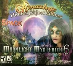 There are lots of quality hidden object games in the microsoft store and we gathered the best ones so far. Moonlight Mysteries 6 Pc Game 5 Pack Amazing Hidden Objects New With Sleeve 734113031094 Ebay