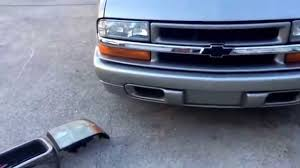 Chevy s10 to GMC sonoma front end swap - YouTube