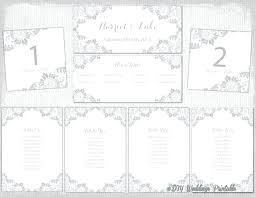 Seating Chart Cards Template Free Printable Wedding Seating Chart Template Wsopfreechips Co