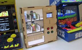 Game Vending Machines Beauteous Kits For Custombuilt Arcade And Mame Cabinets Vending Machines