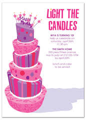Girls Birthday Party Invitation Templates Magdalene